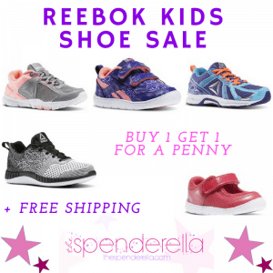 7cfdc07ba1e Head to Reebok to score Kids Footwear Buy 1 Get 1 for a Penny. Prices start  at  12.50 each with code KIDSBOGO! Shipping is free when you sign in to  your ...