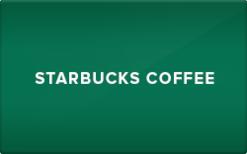 $10 Starbucks Gift Card for $4.65