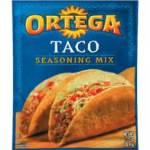 $1/2 Ortega Coupon = Cheap Taco Seasoning & Taco Shells!
