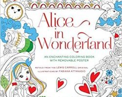 Alice in Wonderland Coloring Book $2.48 (Regular $9.95)
