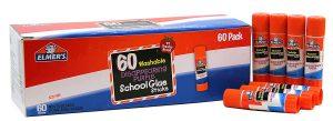 Elmer's 60 pack of School Glue Sticks – $11.69 (Regular $19) – that is $.19 a Stick!