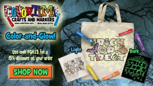 Colortime Crafts and Markers – Color and Glow Bags