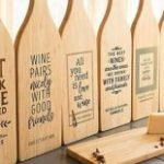 Custom Wine Bottle Shape Cutting Boards $13.98 Shipped (Regular $24.99)