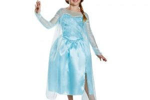Disney's Frozen Elsa Snow Queen Girls Costume $6.89 (Regular $19.99)