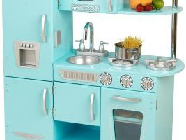 KidKraft Vintage Kitchen in Blue $76.99 (Regular $145.99)