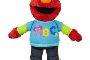 Sesame Street Talking ABC Elmo Figure $9.99 (Regular $19.99)