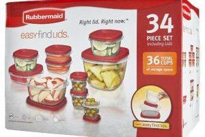 Rubbermaid 34 Piece Storage Set $7.00(Regular $24.99)