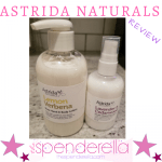 Astrida Naturals Shea Hand & Body Lotion and Facial Cleansing Lotion Review
