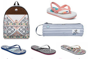Roxy Promo Code – Backpack $14.70, Flip Flops $7.00, Toddler Sandals $5.60 + More!