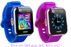 VTech Kidizoom Smartwatch DX2 $34.99 (Regular $59.99)