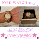 JORD Watch Review + $100 JORD Credit Giveaway + 25% Off Promo Code