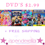 Best Buy DVD's from $2.99 + Trolls, Thomas the Train, Barbie, Monster High & More!