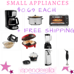 Kohl's – Small Kitchen Appliances as low as $.69 each (Includes Crock-pot)