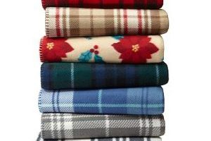 WOW!  Fleece Throws $1.99