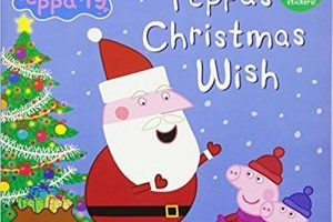 Peppa Pig Book – Peppa's Christmas Wish $1.82 (Regular $4.99)