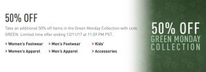 Reebok Green Monday Sale – Extra 50% off Promo Code = Shoes from $12, Clothing from $10