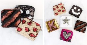 Reversible Sequin Coin Purse $5.98 Shipped (Regular $12.99)