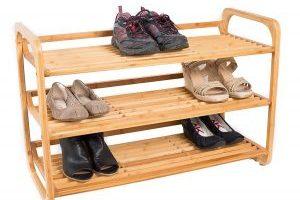 3-Tier Bamboo Shoe Rack $21.99 Shipped (Regular $43.99)