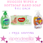 Huggies Wipes & SoftSoap Hand Soap $.50 each + FREE Shipping