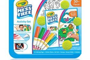 Crayola Color Wonder Art Kit Animal Theme Toy $7.76 (Regular $16.49)