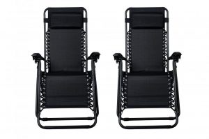 Set of 2 Zero Gravity Chairs $54.98 Shipped (Just $27.49 per Chair)