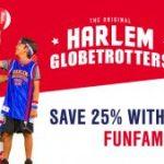 Harlem Globetrotters 25% Off Promo Code