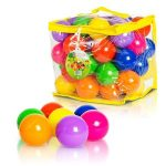 Pack of 50 Soft Plastic Kids Play Balls for Ball Pit $3.99 (Regular $11.99)