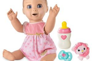 Luvabella Responsive Robot Baby Doll $49.99 (Regular $99.99) – Best Price!