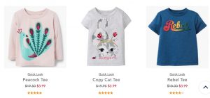 Gymboree – Kids Clothes up to 80% off with Promo Code