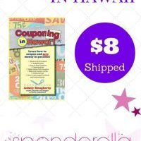 Couponing in Hawaii Book $8 + FREE Shipping