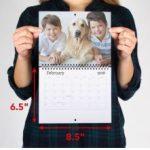 Vistaprint – Mini Wall Calendar $6.99 Shipped