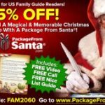 Package from Santa – 25% Off Promo Code – Packages from $14.95