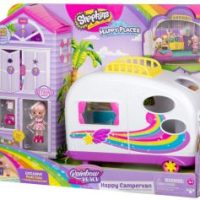 Shopkins Happy Places Rainbow Beach Camper Van $18.39 (Regular $29.99)