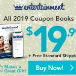 Entertainment Books $19.99 Shipped