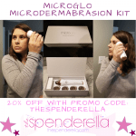Microglo Microdermabrasion Kit 20% Off Promo Code + Product Review