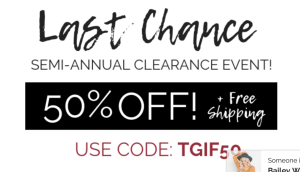 Cents of Style Semi Annual clearance