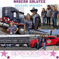 NASCAR Salutes Military Spouses at Pocono Raceway