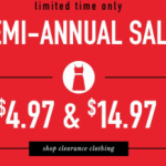 Francesca's Semi-Annual Sale Clothing items only $4.97