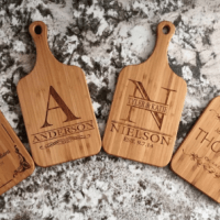Personalized Bamboo Serving Board $12.99 Shipped!