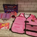 Girls Tactical Vest With Nerf Guns N-Strike Elite Series Set $19.99 (Regular $39.99)