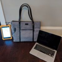 Tanto Laptop Tote Bag with USB for easy on the go Charging $29.99