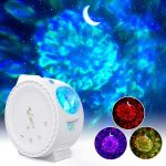 Color Changing Star and Wave Projector LED Light $42.99 + FREE Shipping