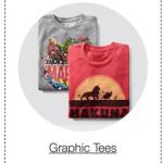 Men's Graphic Tees $5.94 Shipped (Regular $9.99)