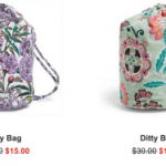 Vera Bradley Ditty Bags $15 Shipped (Regular $30)