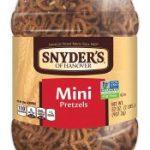 Snyder's of Hanover Mini 32 Ounce Canister Pretzels $3.97 (Regular $6.99)