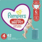 Pampers Cruises Diapers Size 3 & Size 4 $24.94 (Regular $27.99)