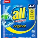 All Mighty Pacs Laundry Detergent 60 Count Pods $8.97 (Regular $14.99)