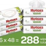 HUGGIES Natural Care Baby Wipes 6 Soft Packs $9.48 or $1.58 per pack!