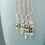 Custom Mama's Sweet Peas Necklace $12.99 Shipped