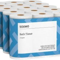 Amazon Brand - Solimo 2-Ply Toilet Paper 30 Count $19.99